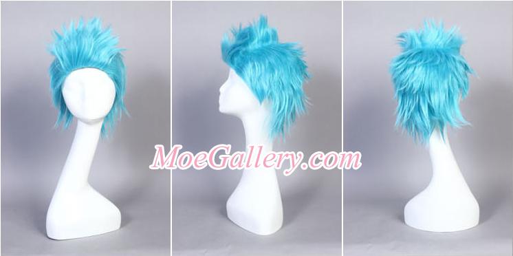 One Piece Franky Cosplay Wig