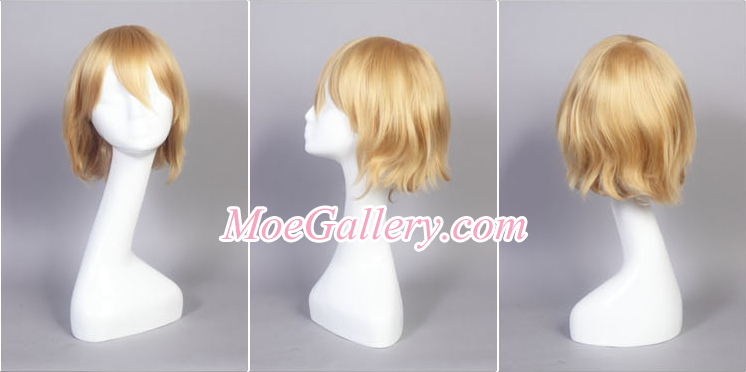 Touhou Project Alice Margatroid Cosplay Wig