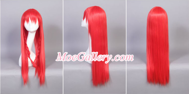 Touhou Project Hong Meirin Cosplay Wig