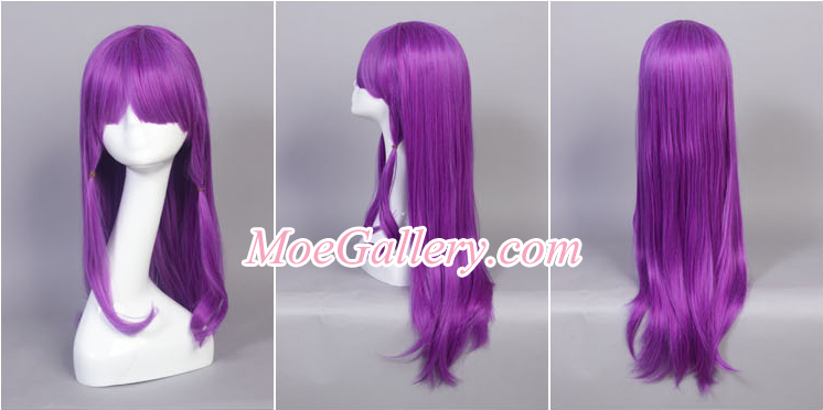 Touhou Project Patchouli Knowledge Cosplay Wig