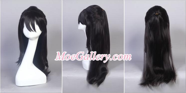 Touhou Project Reimu Hakurei Cosplay Wig 02
