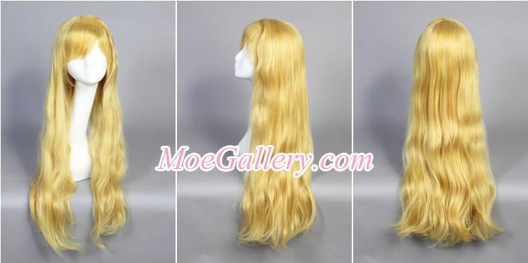 Touhou Project Yukari Yakumo Cosplay Wig 02