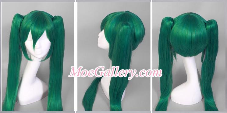 Vocaloid Hatsune Miku Green Cosplay Wig