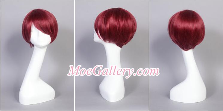 Vocaloid Meiko Love is War Cosplay Wig