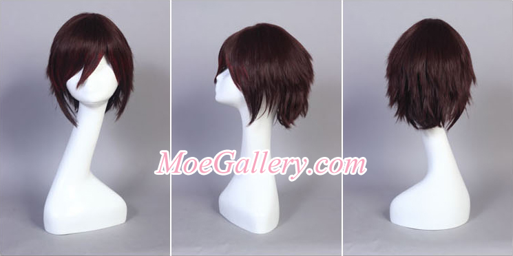 Vocaloid Meiko Secret Police Cosplay Wig