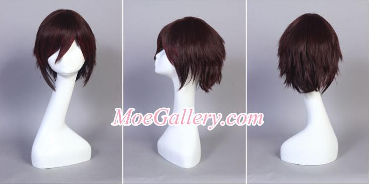 Vocaloid Meiko Secret Police Cosplay Wig