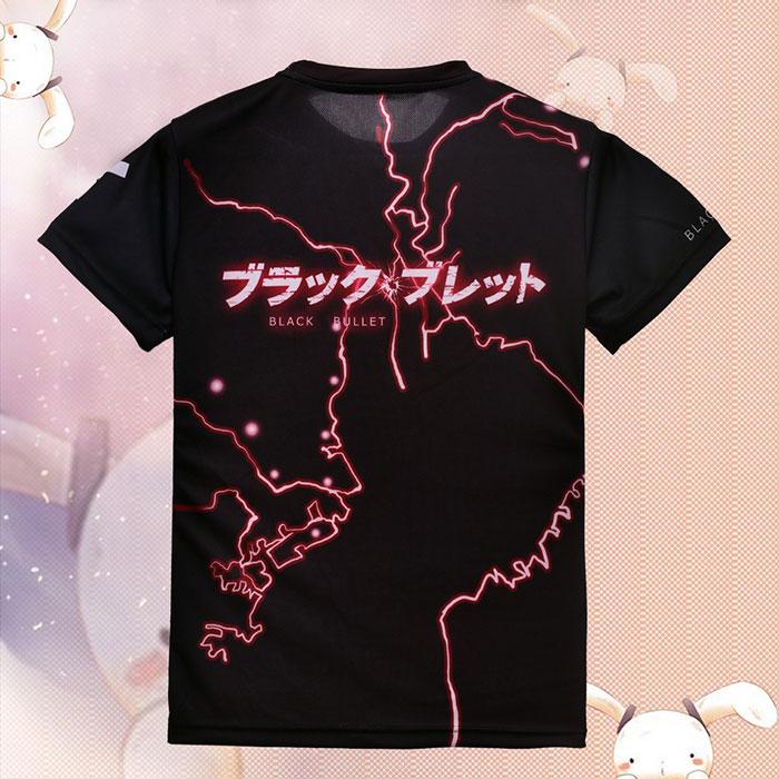 Black Bullet Enju Aihara Full Print T-Shirt 02