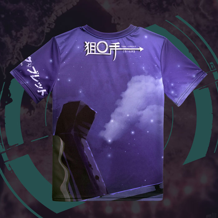 Black Bullet Tina Sprout Full Print T-Shirt