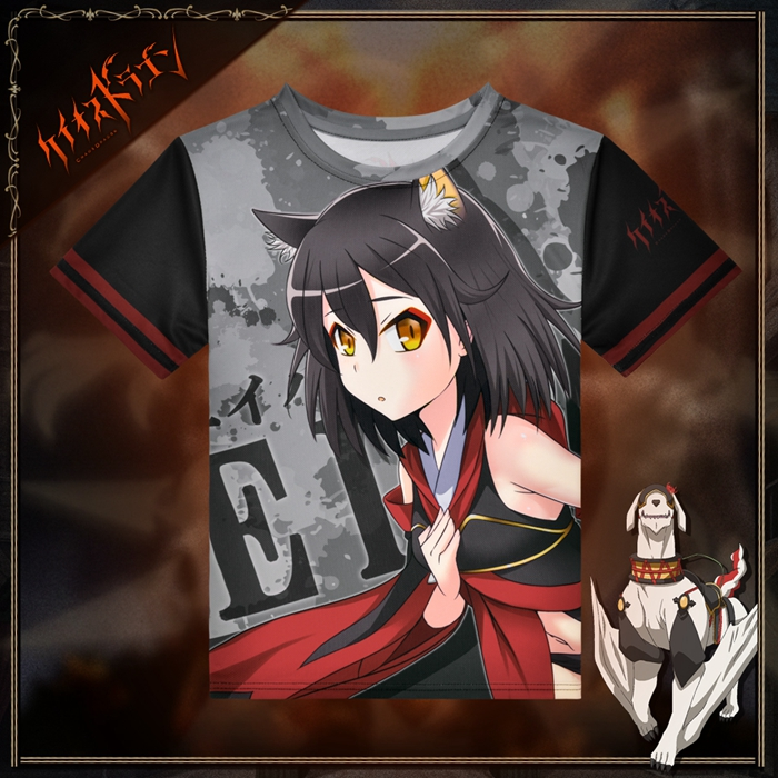 Chaos Dragon Eiha Anime Full Print T-Shirt
