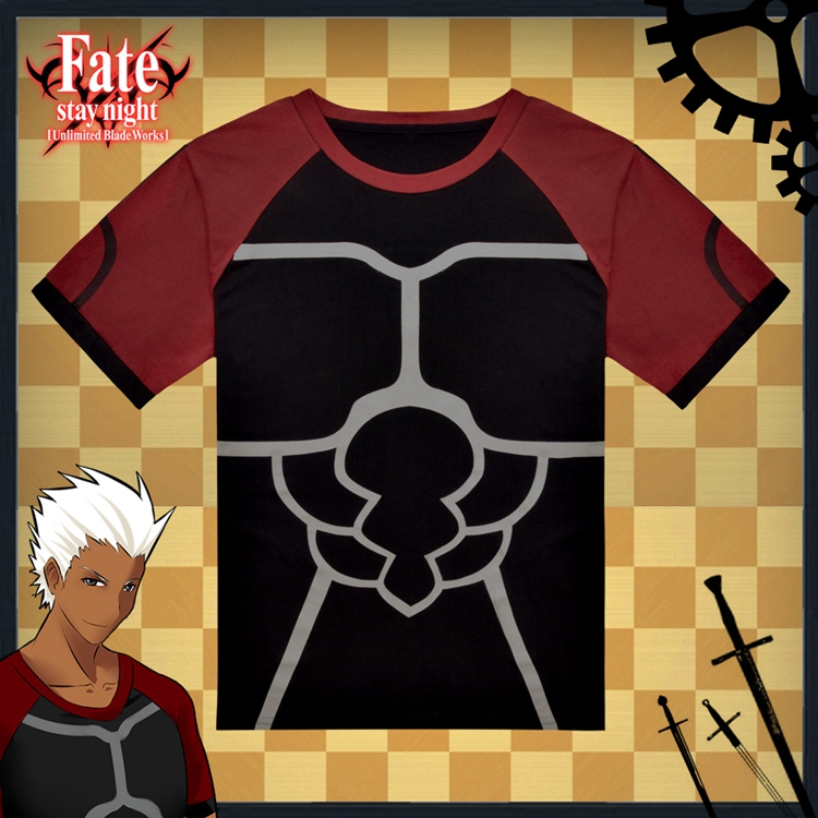 Fate Stay Night Fate Zero Archer Anime Full Print T-Shirt
