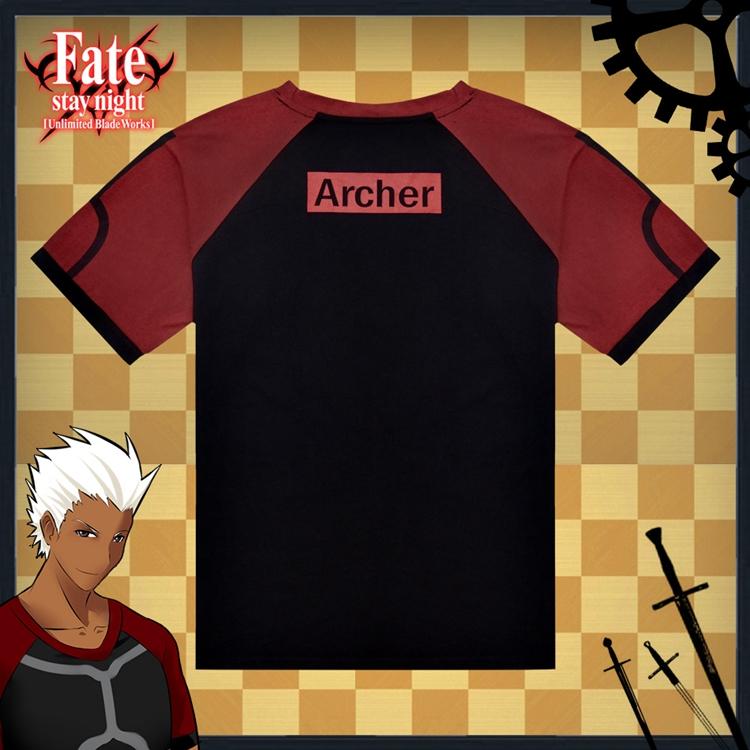 Fate Stay Night Fate Zero Archer Anime Full Print T-Shirt