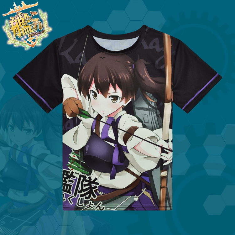 Kantai Collection Kaga Full Print T-Shirt