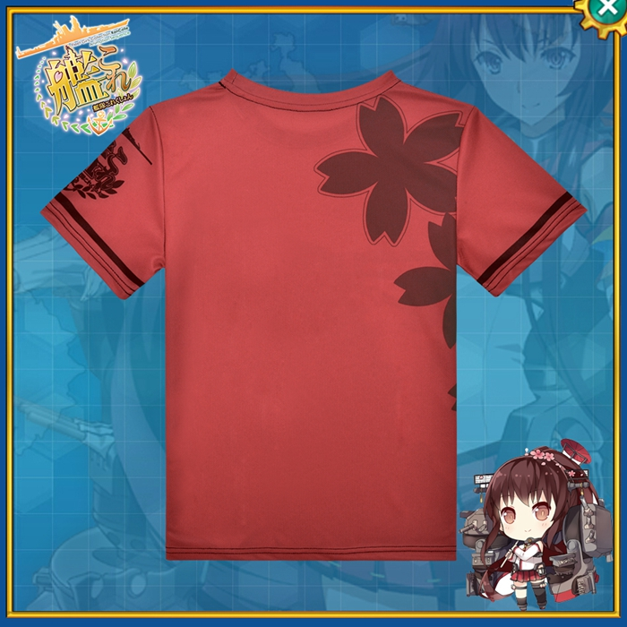 Kantai Collection Yamato Anime Full Print T-Shirt