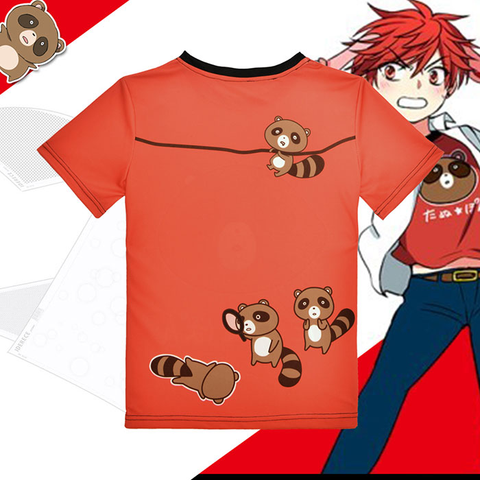 Monthly Girls Nozaki Kun Mikoto Mikoshiba Full Print T-Shirt
