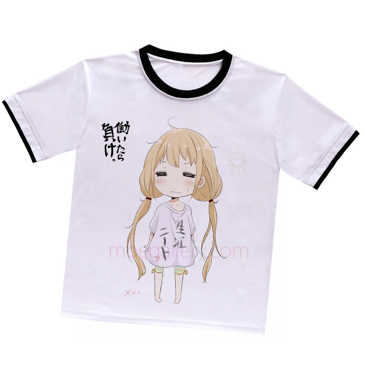 The Idolmaster Anzu Futaba White T-Shirt