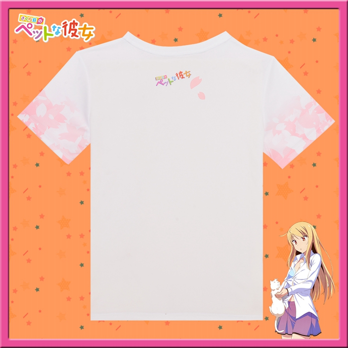 The Pet Girl Of Sakurasou Mashiro Shiina Anime Full Print T-Shirt