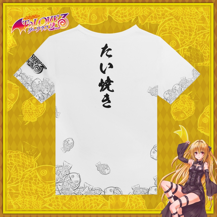To Love-Ru Golden Darkness Anime Full Print T-Shirt