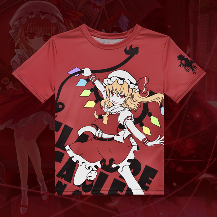 Touhou Project Flandre Scarlet Full Print T-Shirt