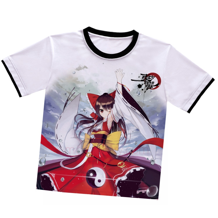 Touhou Project Reimu Hakurei White T-Shirt