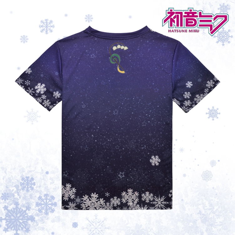 Vocaloid 2015 Snow Hatsune Miku Full Print T-Shirt