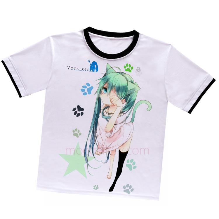 Vocaloid Hatsune Miku White T-Shirt