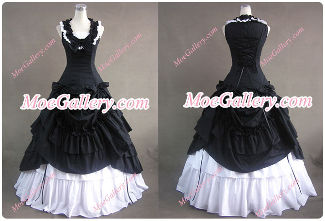 Southern Belle Lolita Ball Gown Black Dress