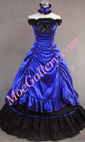 Southern Belle Lolita Ball Gown Wedding Blue Dress