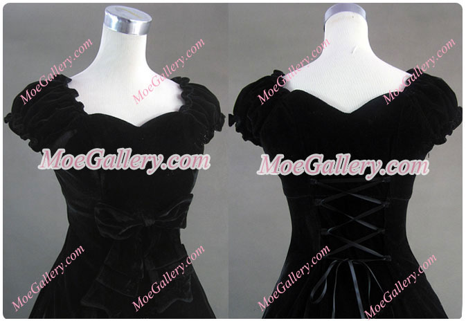 Southern Belle Civil War Satin Ball Gown Dress