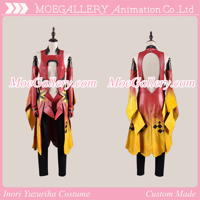 Guilty Crown Inori Yuzuriha Goldfish Cosplay Costume