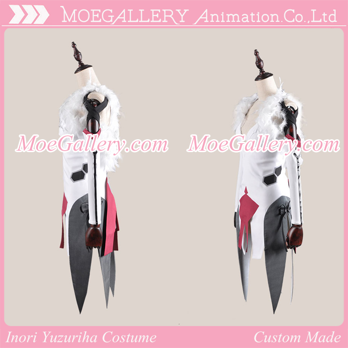 Guilty Crown Inori Yuzuriha White Battle Dress