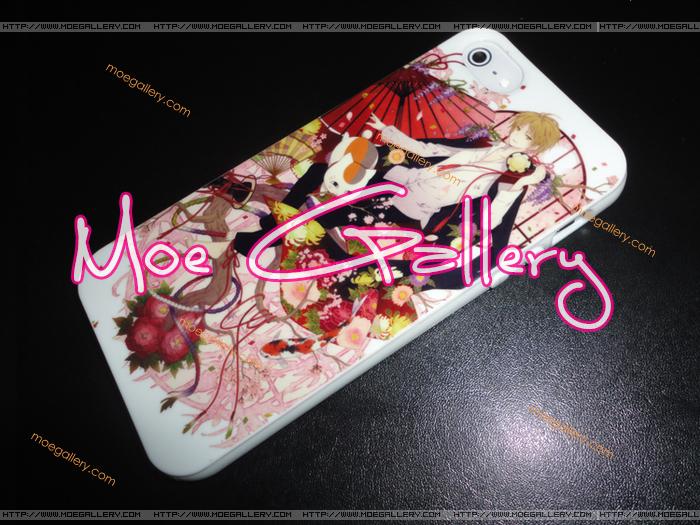 Natsume's Book of Friends Takashi Natsume Nyanko Sensei Madara iPhone 5 Case 01