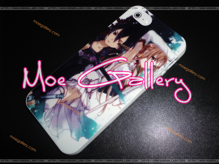 Sword Art Online Asuna Kirito iPhone 5 Case 01