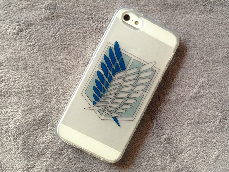 Attack On Titan Wings of Freedom iphone 5 5s 5c Case 02