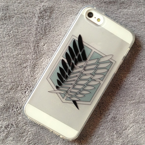 Attack On Titan Wings of Freedom iphone 5 5s 5c Case 03