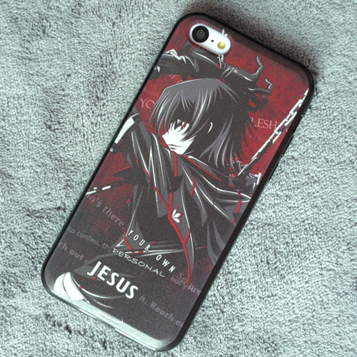 Code Geass Lelouch Lamperouge iphone 5 5s 5c Case