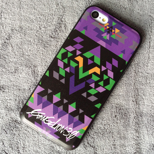 EVA Purple iphone 5 5s 5c Case