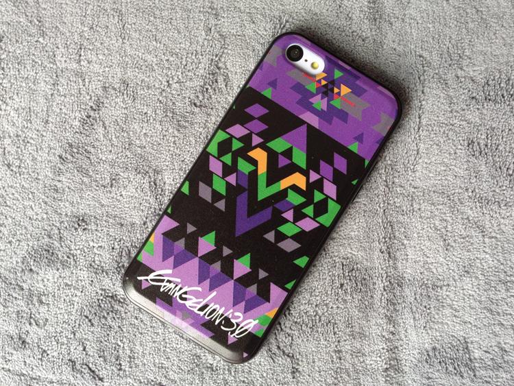 EVA Purple iphone 5 5s 5c Case