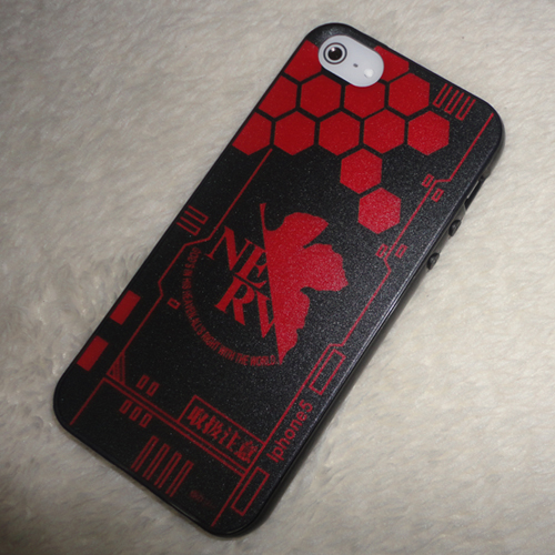 EVA Red iphone 5 5s 5c Case