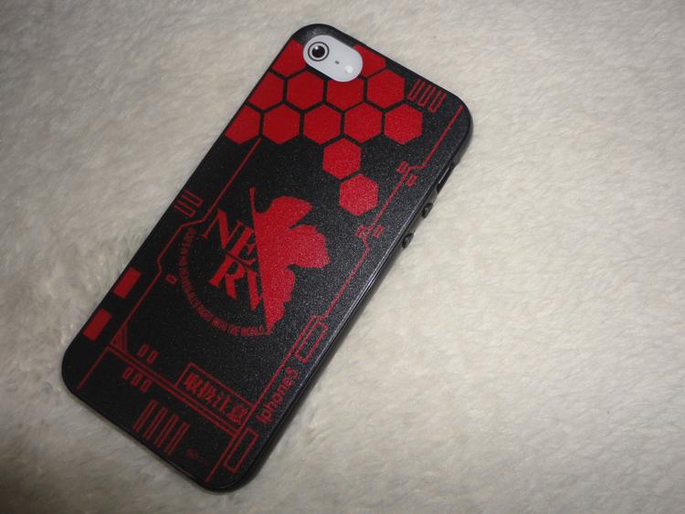 EVA Red iphone 5 5s 5c Case