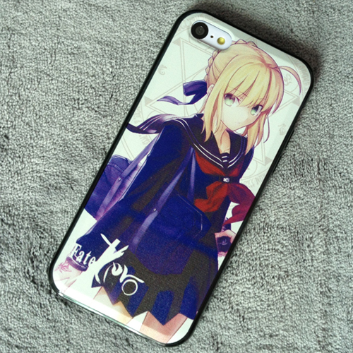Fate Stay Night Fate Zero Saber iphone 5 5s 5c Case 04