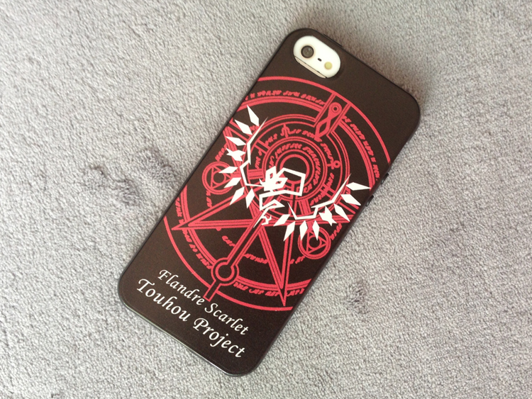 Touhou Project Flandre Scarlet Logo iphone 5 5s 5c Case