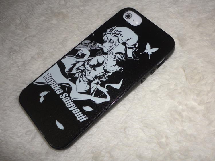 Touhou Project Yuyuko Saigyouji iphone 5 5s 5c Case