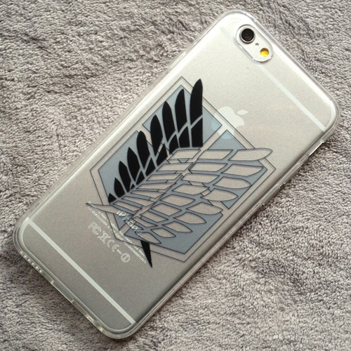 ATTACK ON TITAN FREEDOM iphone case