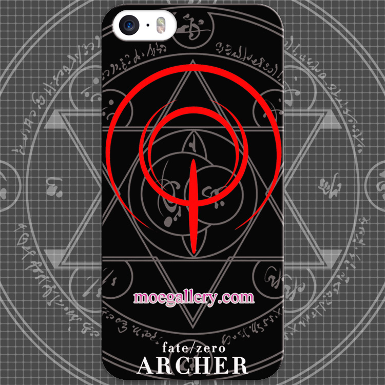Fate Stay Night Fate Zero Archer Logo Anime iphone 5 5s 6 iphone 6 Plus Case