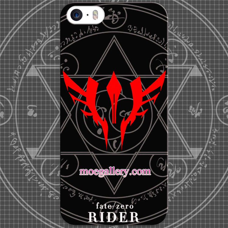 Fate Stay Night Fate Zero Rider Logo Anime iphone 5 5s 6 iphone 6 Plus Case