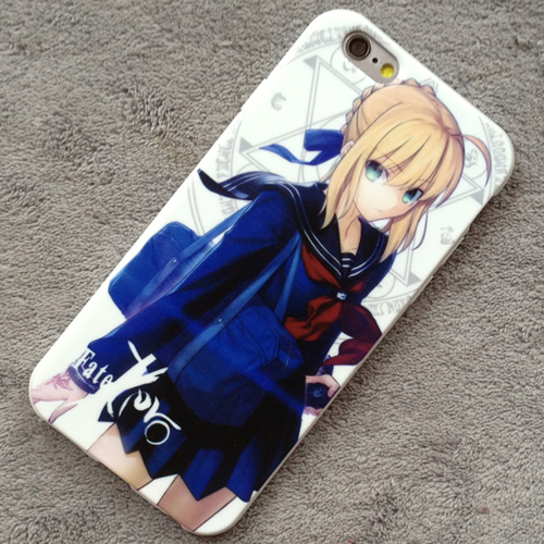 Fate Stay Night Fate Zero Saber iphone 6 iphone 6 Plus Case