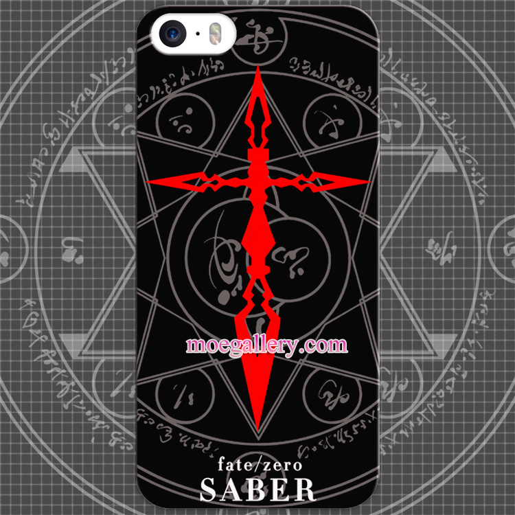 Fate Stay Night Fate Zero Saber Logo Anime iphone 5 5s 6 iphone 6 Plus Case