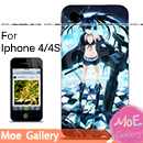 Black Rock Shooter BRS Iphone Case 26