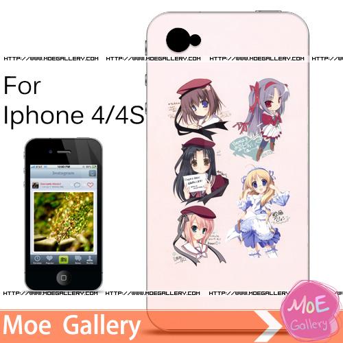 11Eyes Kaori Natsuki Iphone Case 01