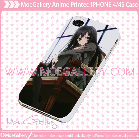 Accel World Kuroyukihime iPhone Case 02